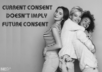 Current consent doesn't imply future consent 2