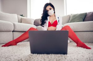 Virtual sex parties offer escape from isolation during lockdown