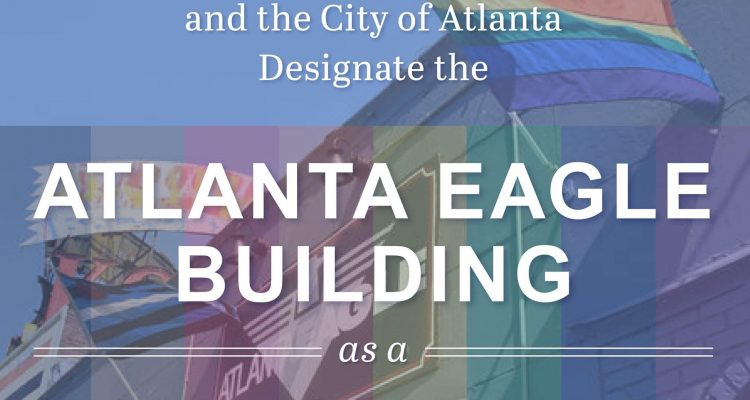 Mayor Bottoms Designated Atlanta Eagle as Historic Landmark